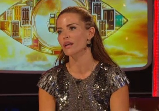 Sophie Anderton is evicted from the Celebrity Big Brother - 4 September 2013