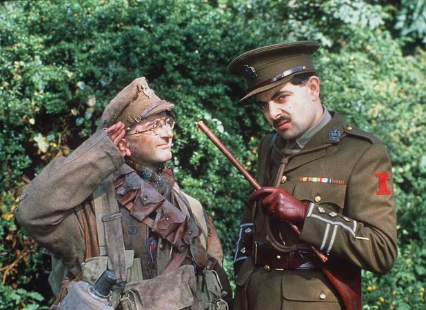 Rowan Atkinson's character Blackadder appears in the top 10 of the list