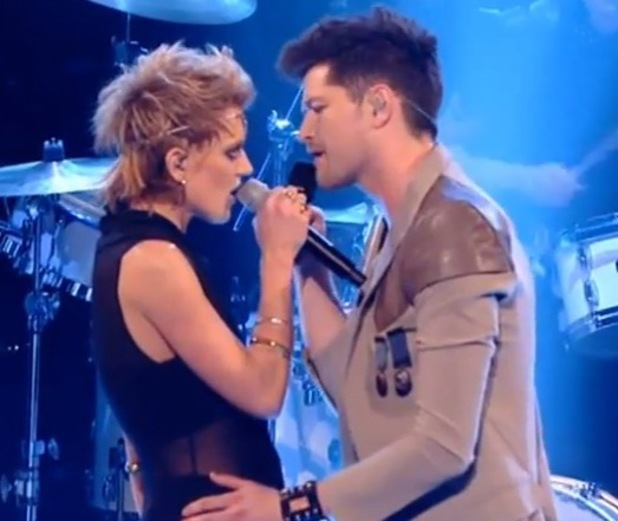 Bo Bruce and Danny O'Donoghue on The Voice - 2012