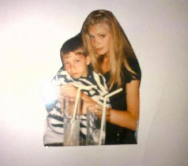 Chloe Sims and Joey Essex childhood picture - 4 September 2013