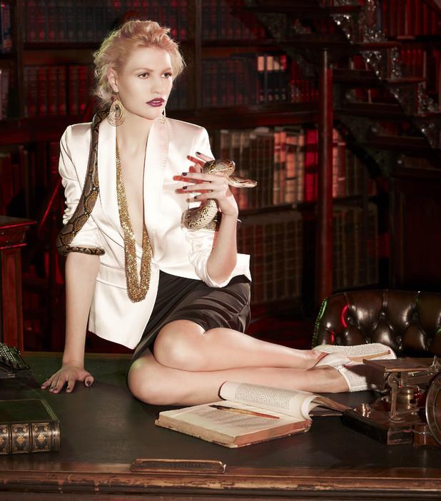 Emma Ward on Britain & Ireland's Next Top Model - 2013