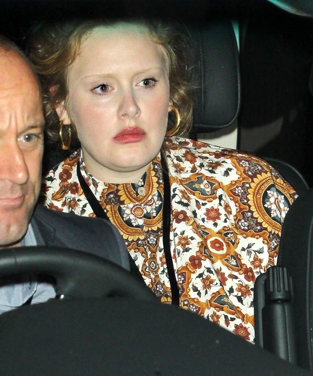 Celebrities leaving the Lady Gaga concert, London, Britain - 01 Sep 2013 - Adele