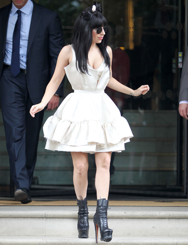 Lady Gaga out and about, London, Britain - 03 Sep 2013
