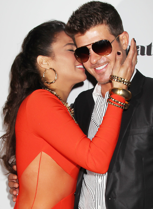 Robin Thicke Official Album Release Party, New York, America - 04 Sep 2013