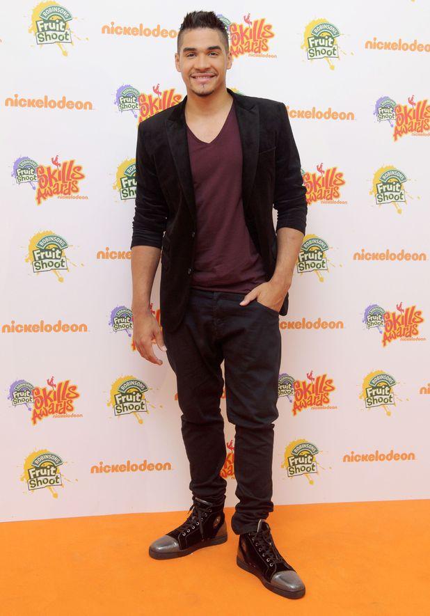 Louis Smith at Nickelodeon's Fruit Shoot Skills Awards