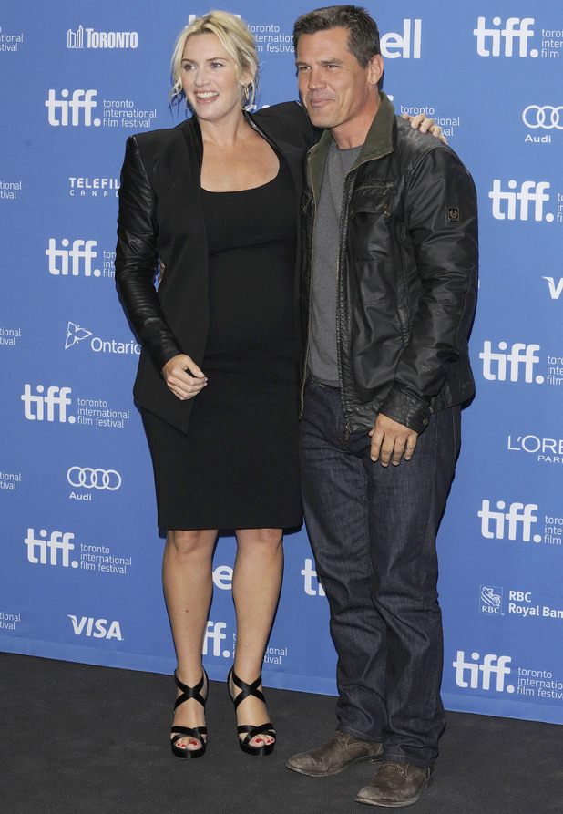 Kate Winslet and Josh Brolin 'Labor Day 'press conference at the Toronto International Film Festival, Canada - 07 Sep 2013