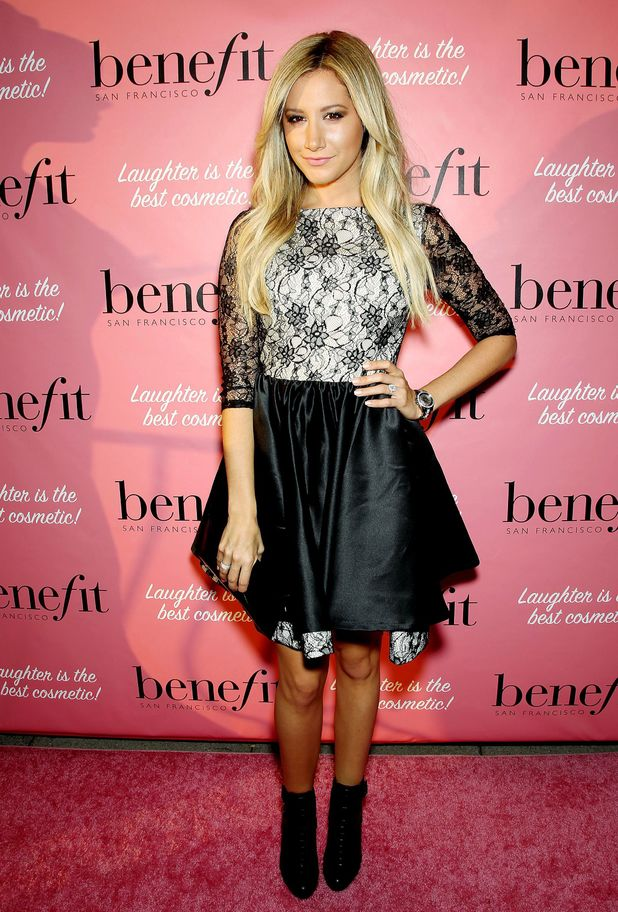 Benefit Cosmetics 'They're REAL-Volutionary Awards, New York, America - 04 Sep 2013 Ashley Tisdale