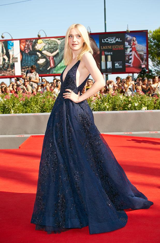 Dakota Fanning at Venice Film Festival 2013