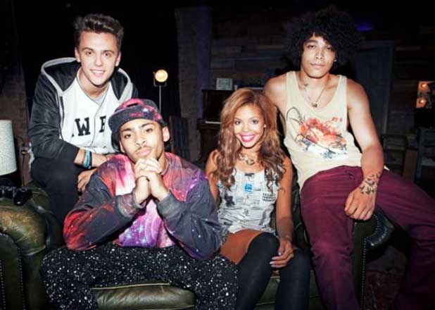 Britain's Got Talent group, Luminites, R-tizt, Steph, JJ and Corey