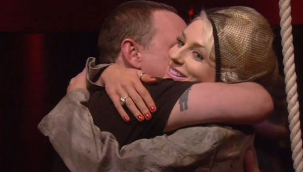 Celebrity Big Brother summer 2013: Courtney Stodden's husband Doug Hutchison is 'kidnapped' by the fake Mr Big.