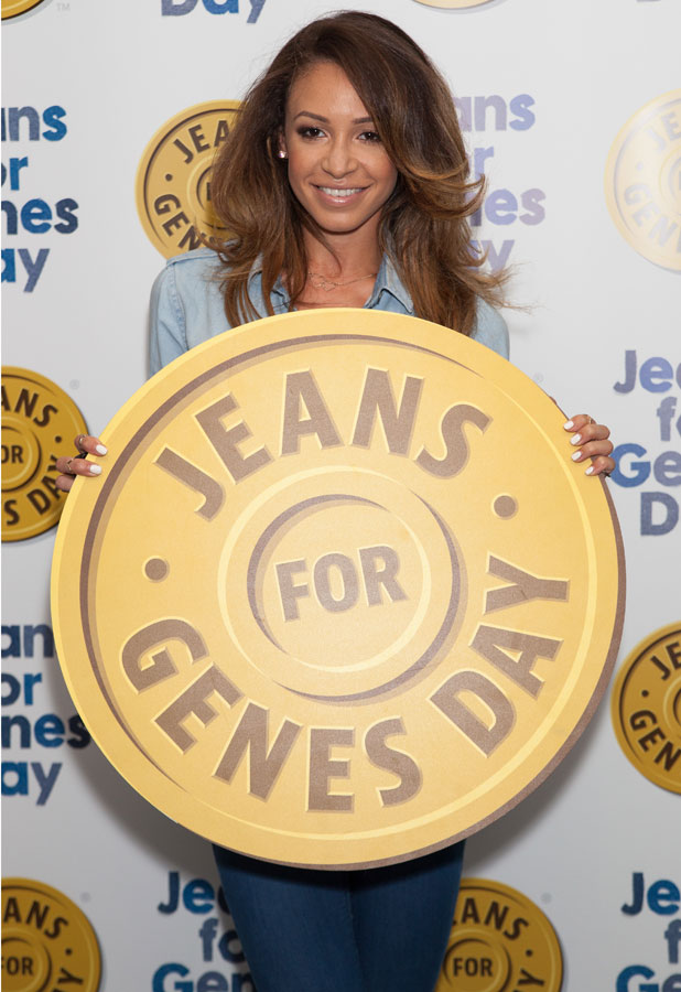 Danielle Peazer at the Jeans For Genes event in London, 3 September