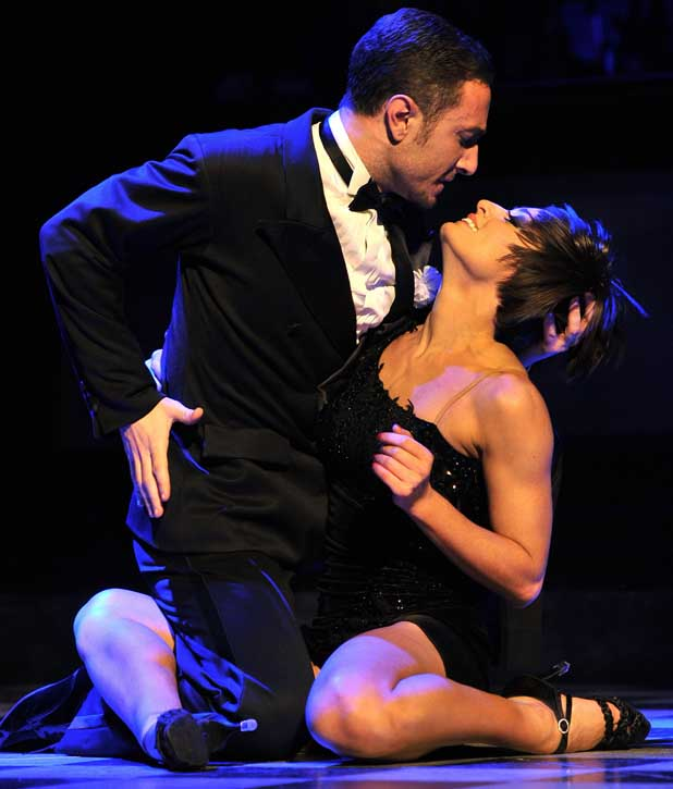 Vincent Simone, Flavia Cacace Midnight Tango - photocall held at the Aldwych Theatre. London, England - 30.01.12
