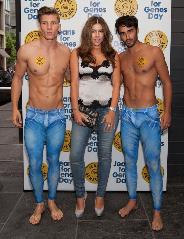Imogen Thomas, Jeans for Genes 2013 party at the Jewel Bar, 3 September 2013