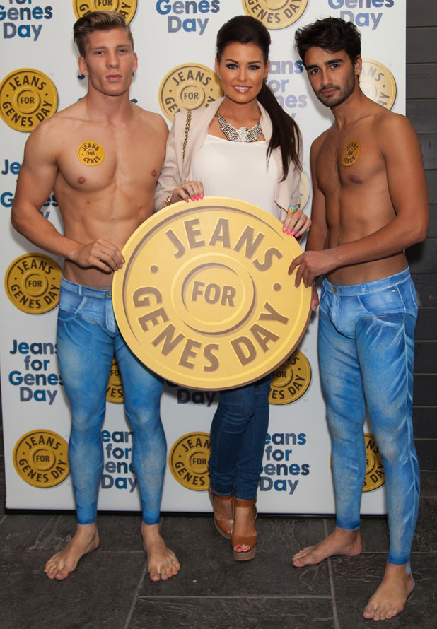 Jessica Wright, Jeans for Genes 2013 party at the Jewel Bar, 3 September 2013