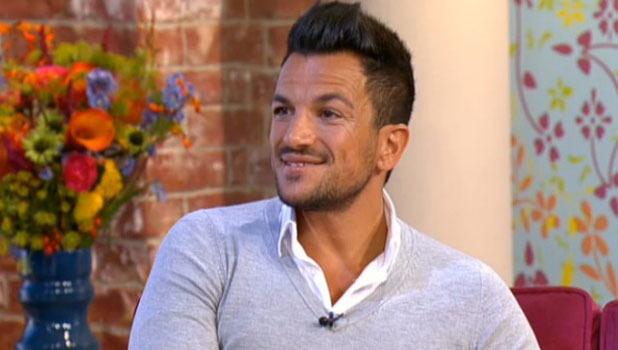 Peter Andre appearing on This Morning, 4 September 2013