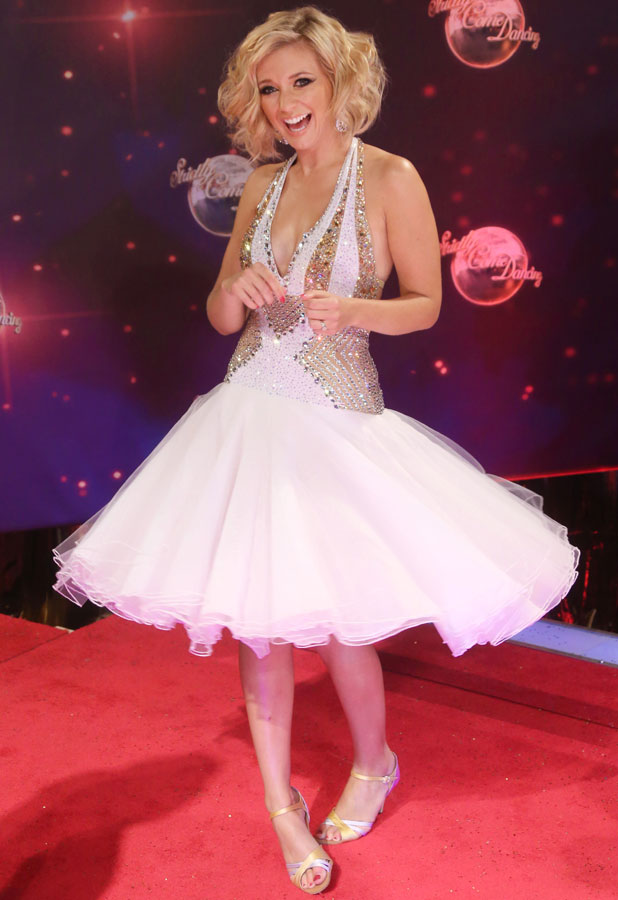 Strictly Come Dancing red carpet launch event held at Elstree studios - Arrivals - Rachel Riley 2013