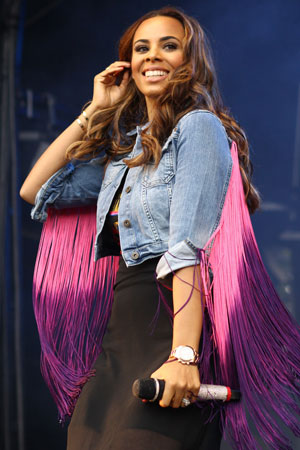 Fusion Festival 2013 - Performances - Day Two, Rochelle Humes