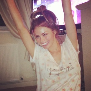 Chloe Sims gets excited for TOWIE trip to Las Vegas - 9 September 2013