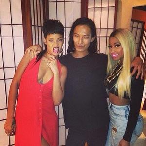 8.9.2013 - New York Fashion Week Nicki Minaj, Rihanna, Alexander Wang