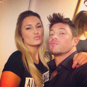 TOWIE's Sam Faiers and Duncan James from Blue