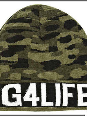 'G4LIFE' beanie from Rihanna for RIver Island collection