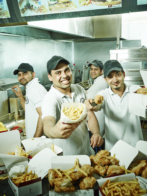 The Fried Chicken Shop, C4, Mon 16 Sep