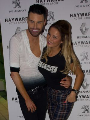 The Hayward's 20th anniversary event on Saturday (7 September) Sam Faiers and Rylan Clark