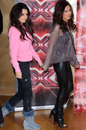 Cher Lloyd and Cheryl Cole X Factor finalist photocall London, England - 09.12.10 Credit :WENN