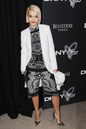 DKNY 25 Birthday Bash at 23 Wall Street Rita Ora - 9.9.2013