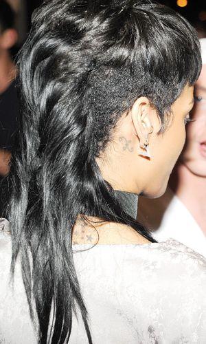 Rihanna, Sidney Sewell, Thurman Sewell at New York Fashion Week 8 Sep 2013