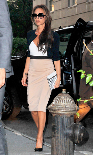 Victoria Beckham out and about, New York, America - 10 Sep 2013 Victoria Beckham 10 Sep 2013