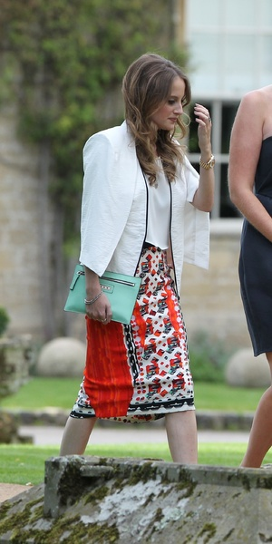 Professor Green wedding to Millie Mackintosh - 10 September 2013 Rosie Fortiscue