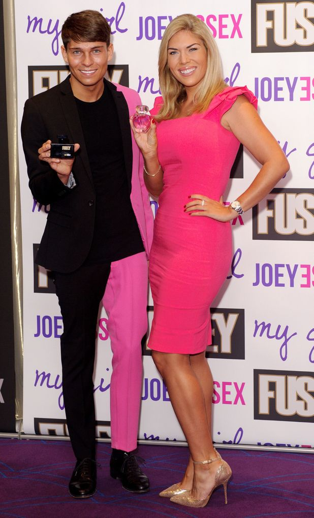 Joey Essex fragrance launch, London, Britain - 12 Sep 2013 Joey Essex and Frankie Essex 12 Sep 2013 Joey Essex launches 'Fusey' fragrance for men and 'My Girl' fragrance for women