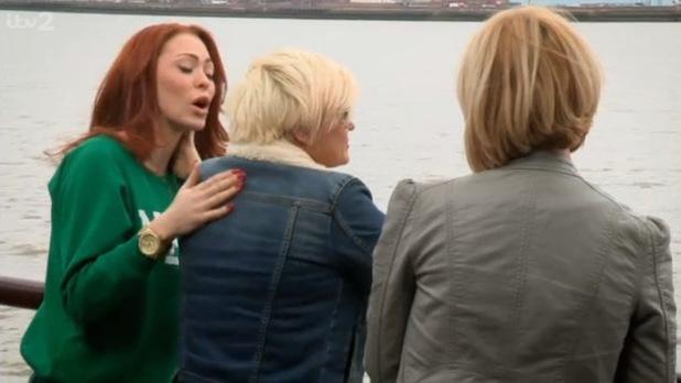 Natasha Hamilton, Liz McClarnon, Kerry Katona on The Big Reunion on tour - 12 September 2013