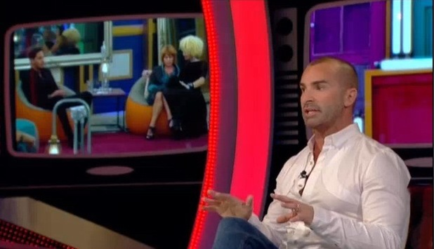 Louie Spence eviction interview from Celebrity Big Brother - 11 September 2013