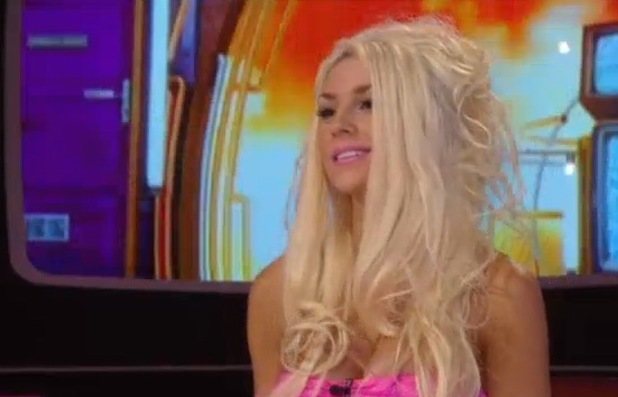 Courtney Stodden eviction interview from Celebrity Big Brother - 11 September 2013