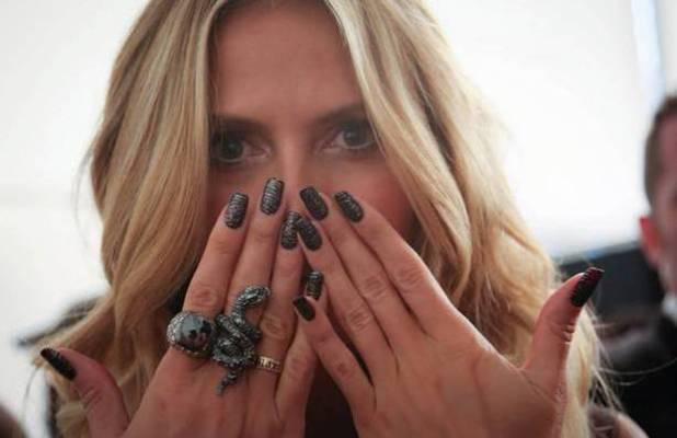 Heidi Klum nail wraps by OPI