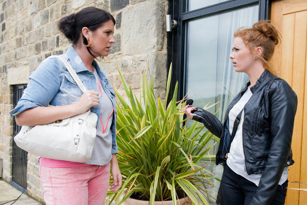 Emmerdale, Kerry talks to Amy, Wed 18 Sep