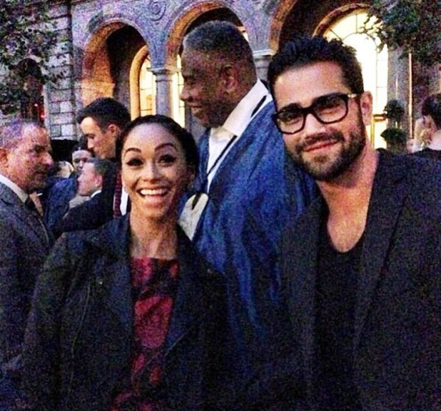 Jesse Metcalfe, Cara Santana at new York Fashion Week - 9.9.2013