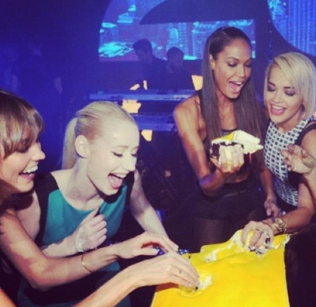DKNY 25 Birthday Bash at 23 Wall Street Rita Ora, Iggy Azalea, Karlie Kloss, Joan Smalls - 9.9.2013