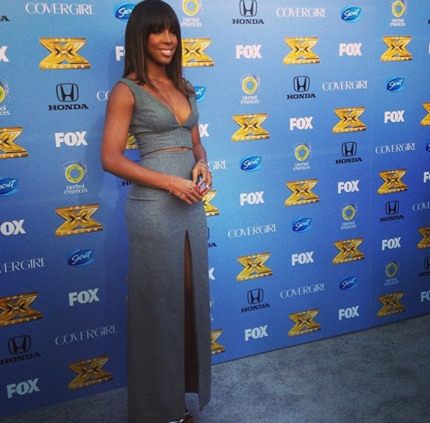Kelly Rowland at X Factor USA launch - 6 September 2013