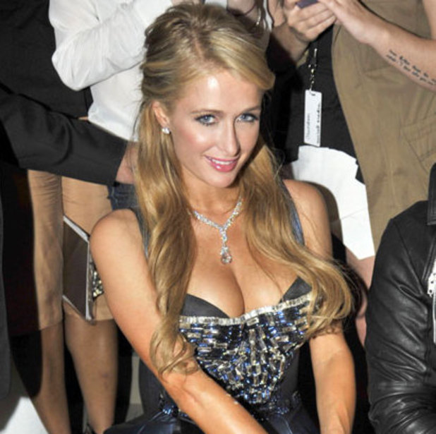 Paris Hilton at The Blonds Show, Spring Summer 2014, Mercedes-Benz Fashion Week, New York, America - 11 Sep 2013