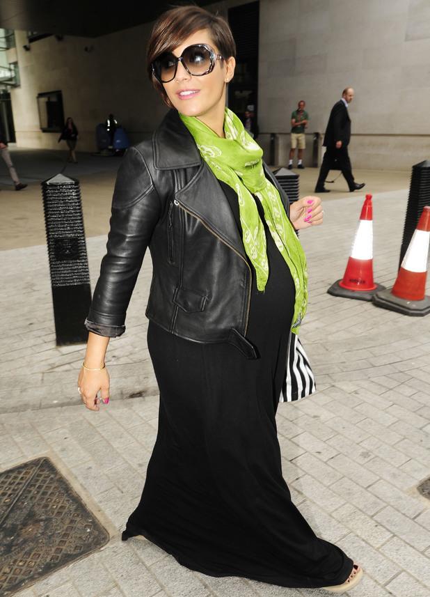 Frankie Sandford: The Saturdays leaving BBC Radio1 - 19 August 2013