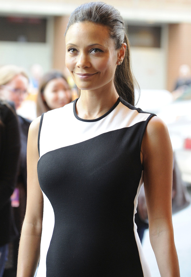 Thandie Newton at Half Of A Yellow Sun premiere at the Winter Garden Theatre during the 2013 Toronto International Film Festival. 8 September 2013