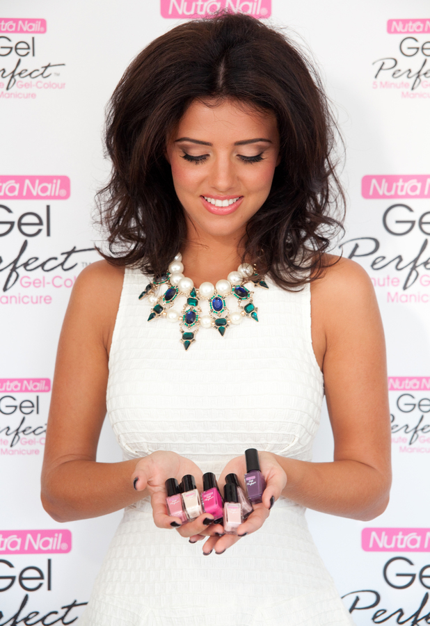 TOWIE's Lucy Mecklenburgh as the ambassador for Nutra Nail Gel Perfect Manicure kit