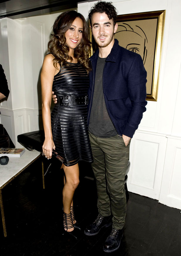 H&M and Vogue Studios Celebrate between the Shows, Spring 2014 Mercedes-Benz Fashion Week, New York, America - 06 Sep 2013 Danielle Deleasa and Kevin Jonas