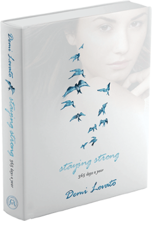 Demi Lovato's new inspirational book, Staying Strong.
