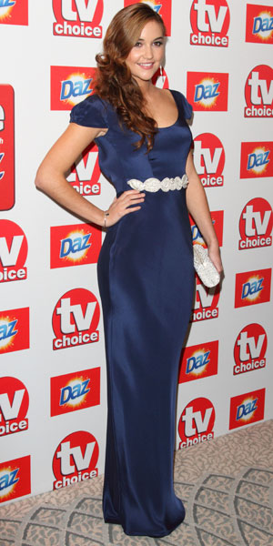 Jacqueline Jossa, The TV Choice Awards 2013 held at the Dorchester - Arrivals 9 September 2013