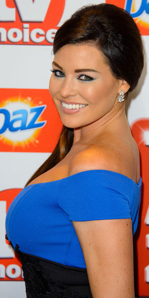 Jessica Wright, The TV Choice Awards 2013 held at the Dorchester - Arrivals, 9 September 2013