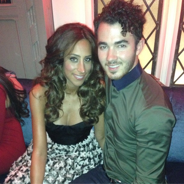 Danielle Jonas and Kevin Jonas at the US Weekly fashion party (10 September)